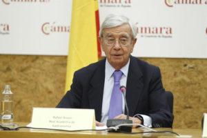 Rafael Ansón, de la Academia de la Gastronomía. / Foto: Europa Press.