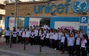 Presentación de #CierraUNICEF. / Foto: Europa Press.