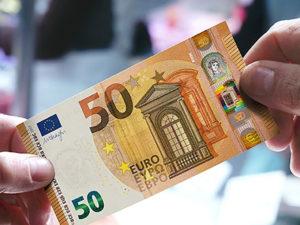 Nuevo billete de 50 euros. / Foto: Europa Press.