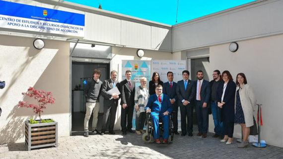 Alcorcón acoge el nuevo Centro de Estudios y Recursos Didácticos de Apoyo a las Personas con Discapacidad
