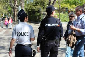policia francesa espanola