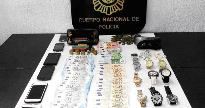 La Policía Nacional detiene a unos asaltantes que maniataron a los moradores de una casa en Marbella