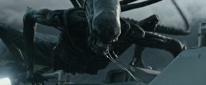 Escena de 'Alien: covenant'.