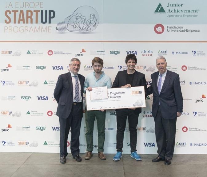Light, una 'app' que incentiva a las personas a ser más sostenibles, gana el Startup Programme