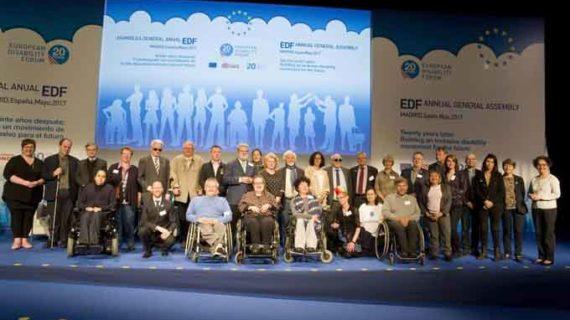 La española Ana Peláez, elegida vicepresidenta del Foro Europeo de la Discapacidad