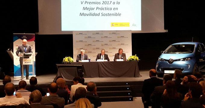 El ministro del Interior entrega en Madrid los V Premios a la Mejor Práctica en Movilidad Sostenible