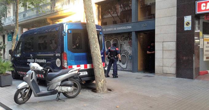 Una decena de detenidos en la operación contra la camorra italiana en Barcelona
