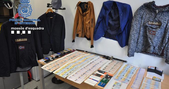 Desarticulan una red criminal que estafó un millón de euros a bancos usando identidades robadas