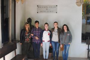 Estudiantes de Bachillerato desentrañan la historia de amor imposible entre un descendiente de Santa Teresa y la escritora Gertrudis Gómez de Avellaneda