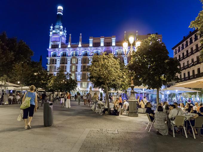 Madrid a través de la ventana