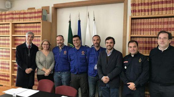 Expertos españoles en prevención y meteorología asesoran a las autoridades de Protección Civil de Portugal