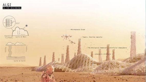 Un hábitat para Marte diseñado por un equipo español, ganador de un concurso mundial en el que colabora la NASA