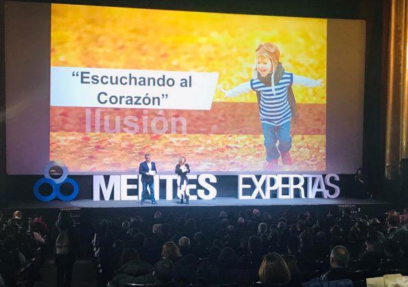 Mentes Expertas llena los cines Capitol de Madrid con una conferencia de Luis Galindo