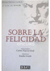Libro 'Sobre la felicidad'.