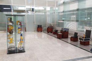 Exposición de objetivos en el Aeropuerto de Fuerteventura.