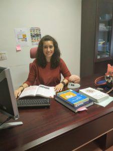Maria Moreno, investigadora del estudio.