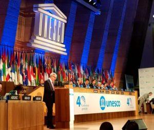 Intervención del ministro de Cultura y Deporte en funciones, José Guirao, en la 40ª Conferencia General de UNESCO.