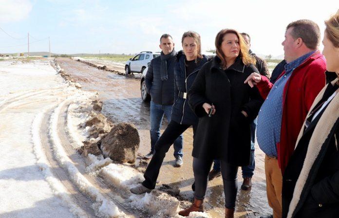 Andalucía activa una comisión para evaluar los daños causados por Gloria
