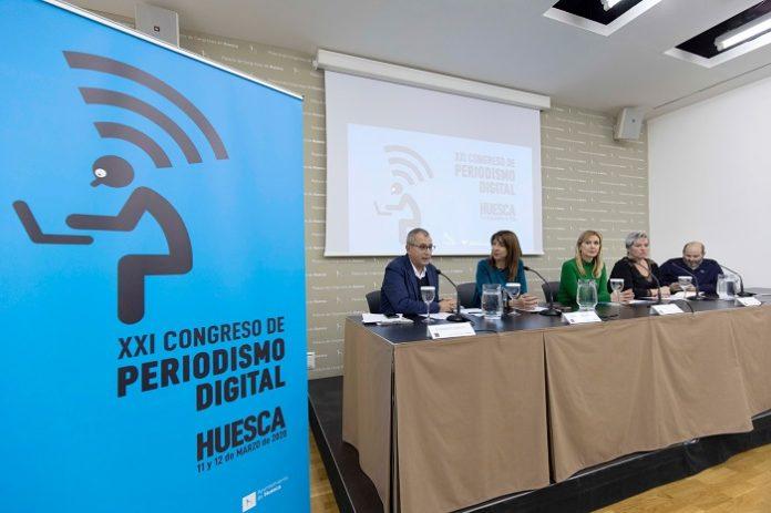 El XXI Congreso de Periodismo Digital de Huesca presenta su imagen
