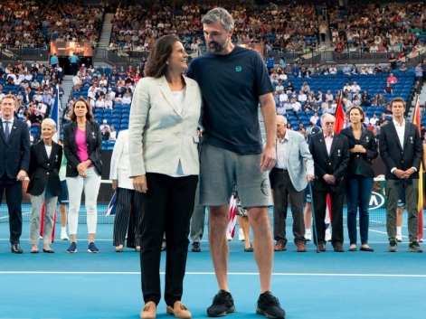 Conchita Martínez formará parte del el International Tennis Hall of Fame.
