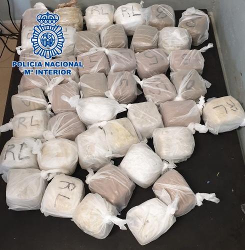 La Policía interviene más de 80 kilos de hachís en un control en Melilla