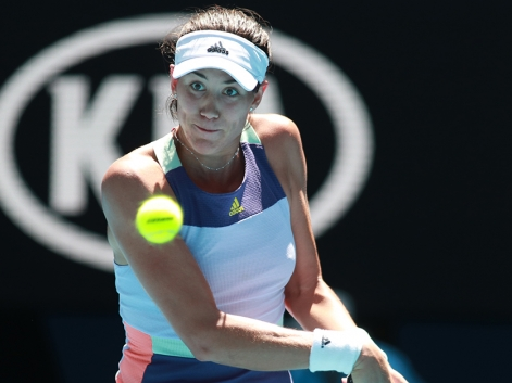 Muguruza alcanza las semifinales del Open de Australia