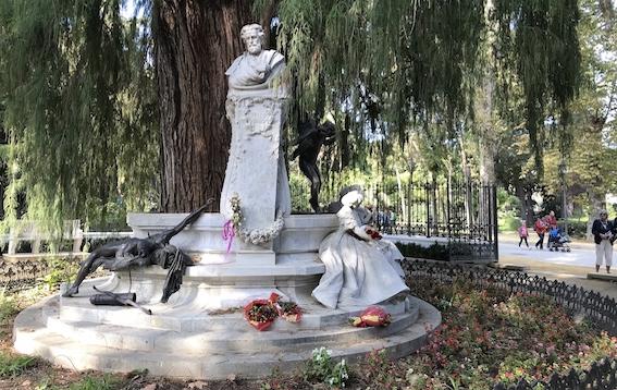 Un acto en el parque de María Luisa de Sevilla abre el Año de los Bécquer