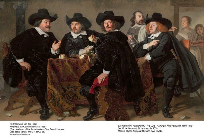Madrid expone casi un centenar de retratos de Rembrandt y sus contemporáneos