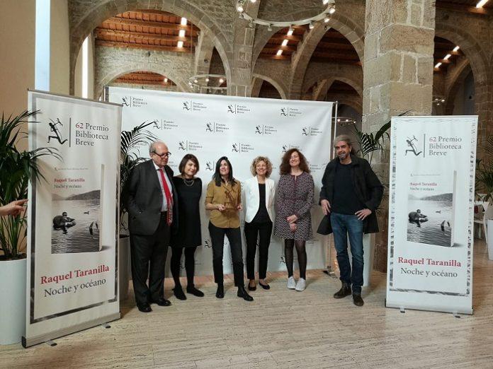 Raquel Taranilla gana el Premio Biblioteca Breve 2020 con 'Noche y océano'