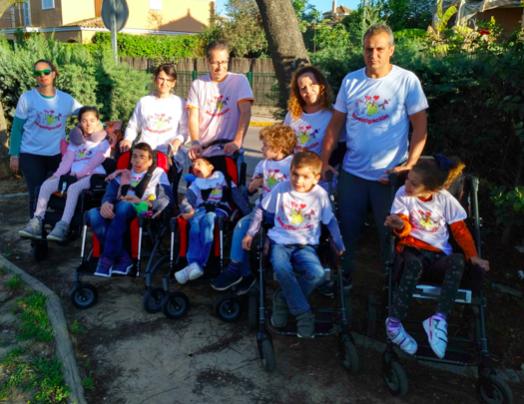 Niños de Espartinas corren por sus compañeros con enfermedades raras