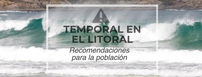 Alerta por vientos y fuerte oleaje en los litorales gallego y cantábrico