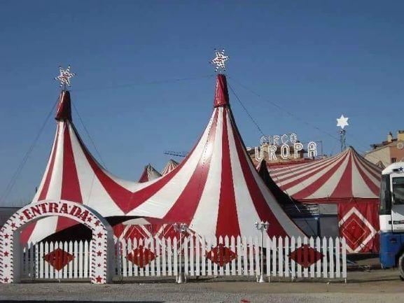 Un circo atrapado en España por el coronavirus