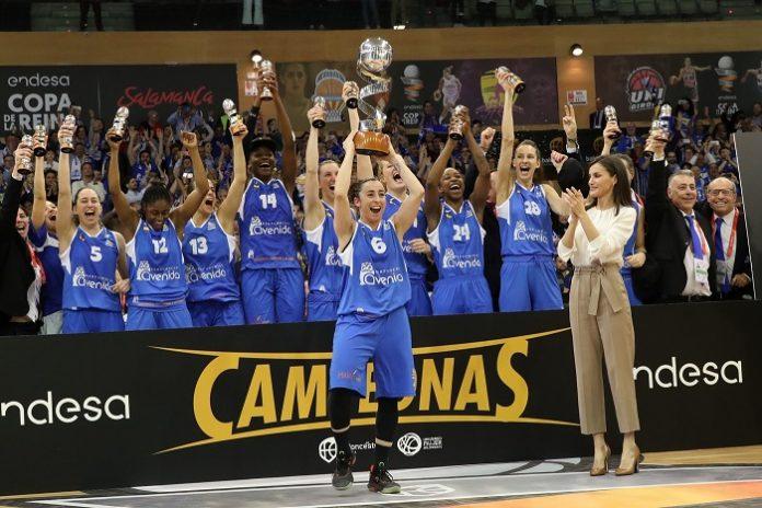 El Perfumerías Avenida gana la Copa de la Reina de baloncesto 2020