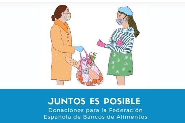 Universitarios lanza una campaña de donaciones a favor de los bancos de alimentos
