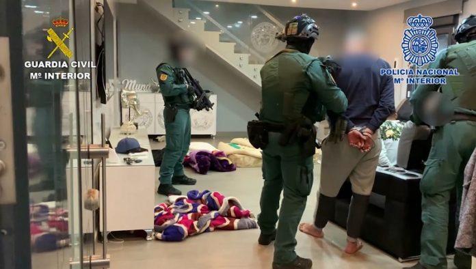36 detenidos e incautadas 4 toneladas de hachís en el Campo de Gibraltar