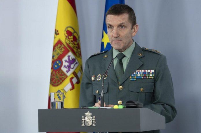 José Manuel Santiago, nuevo jefe del Estado Mayor de la Guardia Civil
