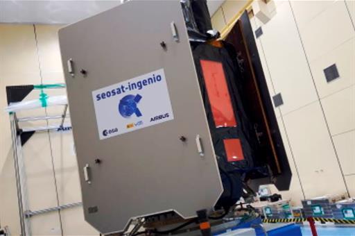 INGENIO, el satélite español que ofrecerá imágenes terrestre de alta resolución