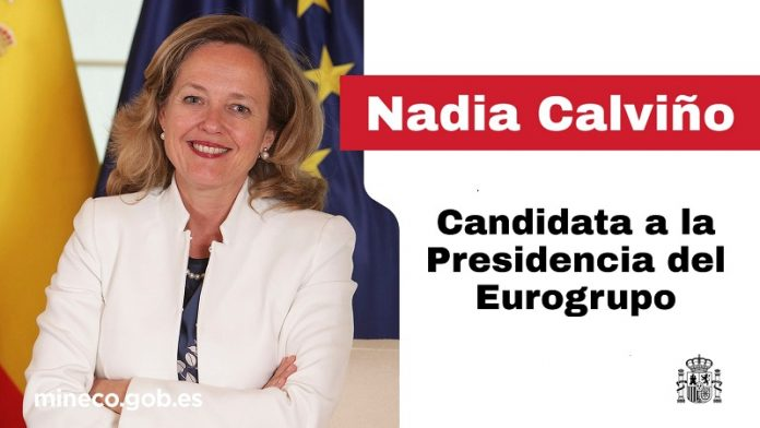 Nadia Calviño se postula como presidenta del Eurogrupo