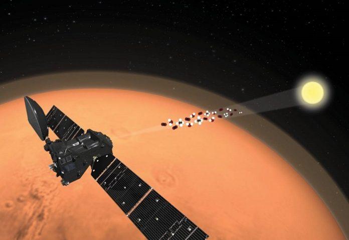 Científicos españoles detectan la 'aurora boreal' marciana