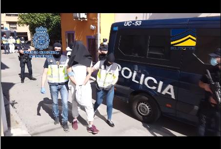 Detenido en Madrid un miembro de la organización terrorista DAESH