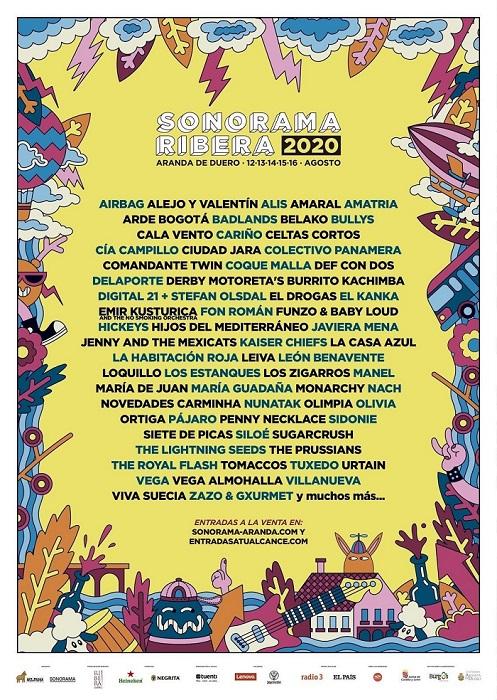 Sonorama celebrará una versión reducida online del festival