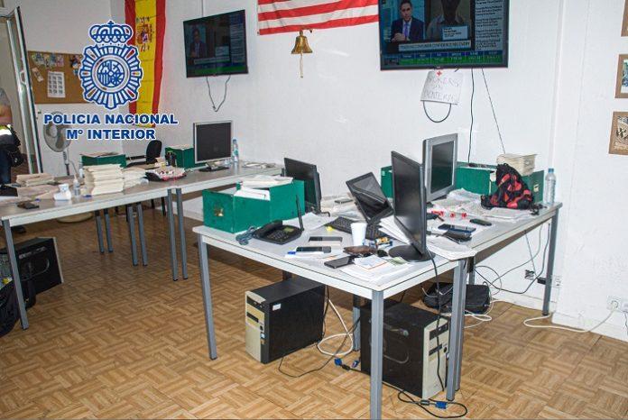 Desmantelan en Madrid un 'chiringuito financiero' con estafados en todo el país