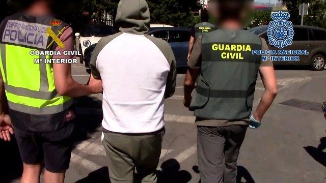 Cae la red más peligrosa de España dedicada a los 'vuelcos' de droga