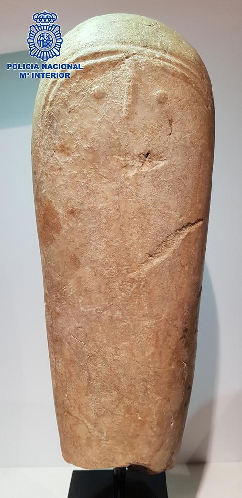 Recuperan en Granada una pieza arqueológica única de gran valor