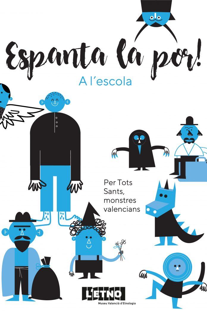 'Espanta el miedo' llega a las escuelas para reivindicar el imaginario valenciano del miedo