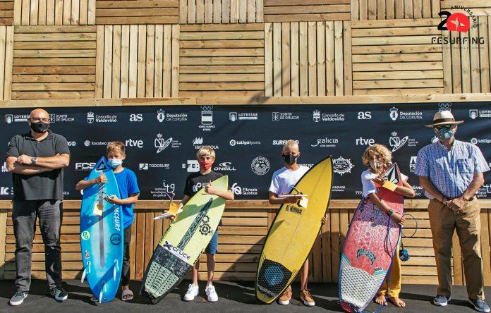 Enara Palacios y Enrique Yedra ganadores en sub 14 femenino y sub 12 del Campeonato de España de Surf