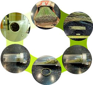 Desarrollan un nuevo aislante acústico y térmico a partir de fibra de esparto