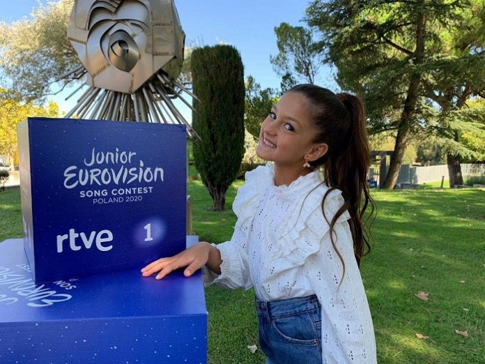 La niña Soleá Fernández representará a España en Eurovisión Junior 2020