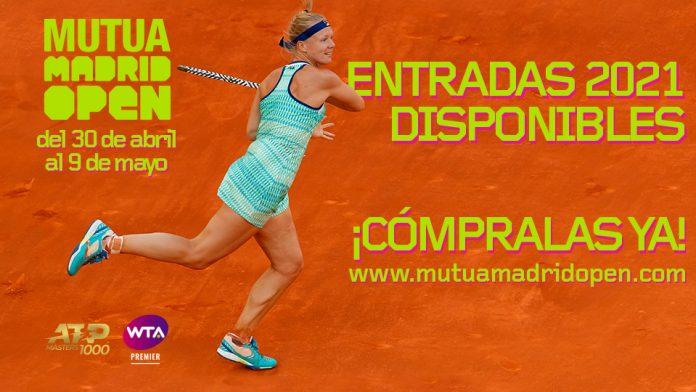 El Mutua Madrid Open pone a la venta las entradas para 2021