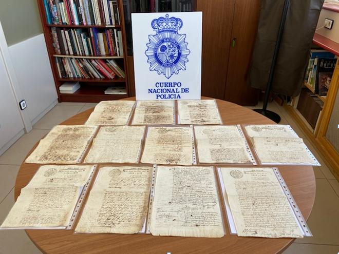 Recuperados 28 manuscritos originales de la época del Virreinato del Perú